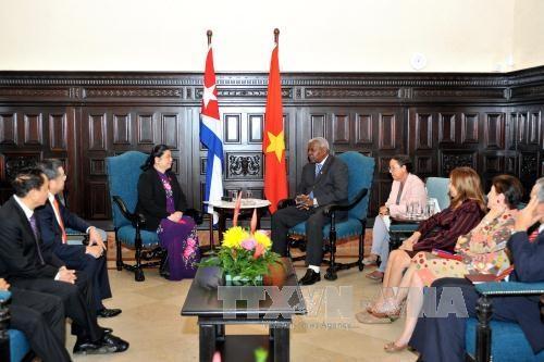 越南与古巴决心进一步加强两国国会之间的关系 hinh anh 1