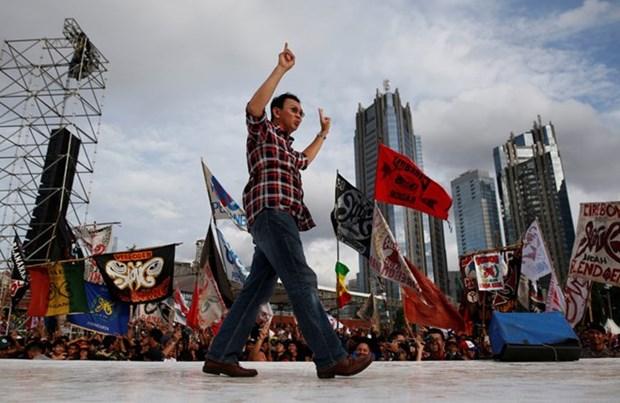 印尼全国性地方选举:首都雅加达迎来省长选举 hinh anh 1