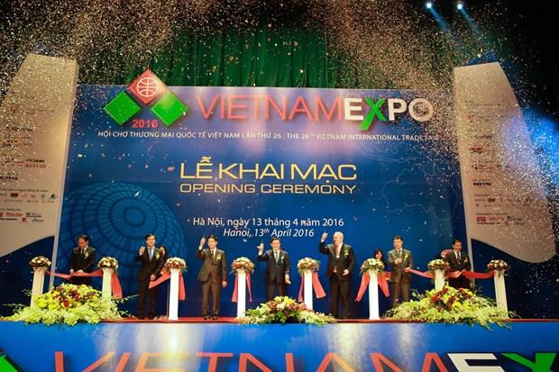 2017年越南国际贸易展览会成为越南与世界各国贸易促进的桥梁 hinh anh 1