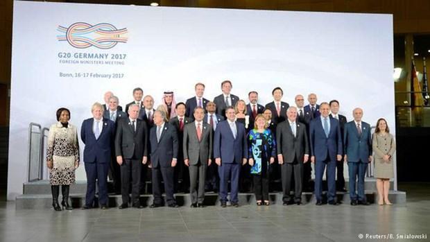 G20强调其在塑造一个相互连通的世界的重要作用 hinh anh 1