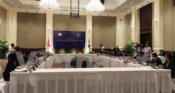 越柬两国中央银行加强合作 hinh anh 1