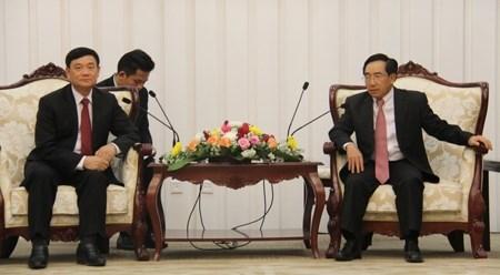 越老友好协会代表团对老挝进行工作访问 hinh anh 1