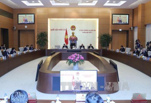 越南第十四届国会常委会第七次会议在河内召开 hinh anh 1