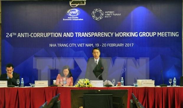 2017年APEC第一次高官会第二天议程结束 完成了10场工作组讨论 hinh anh 1
