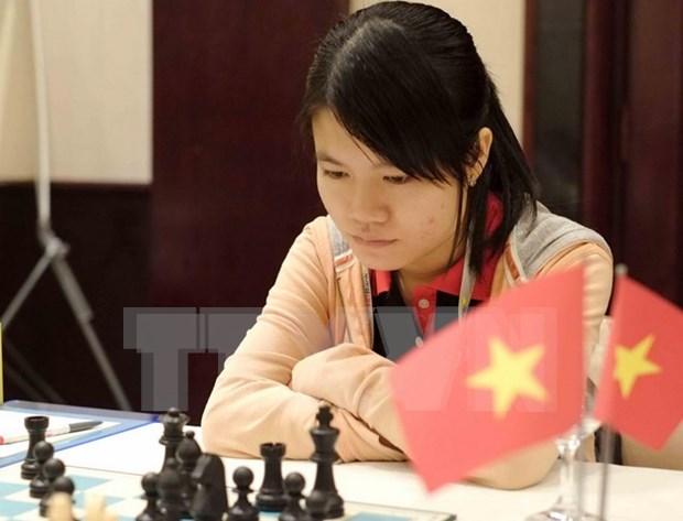 2017女子国际象棋世界锦标赛:范黎草原止步1/8决赛 hinh anh 1
