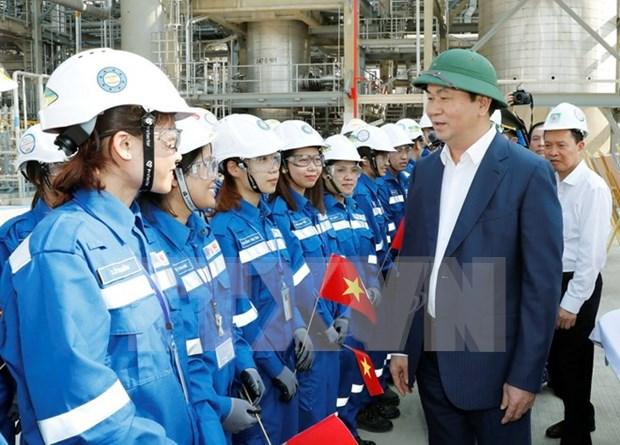 陈大光主席:清化省应优先发展重点经济产业和动力经济区 hinh anh 1