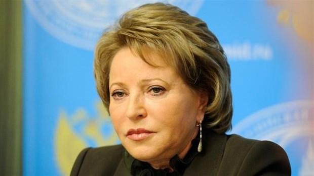 俄罗斯联邦委员会主席对越南进行正式访问 hinh anh 1