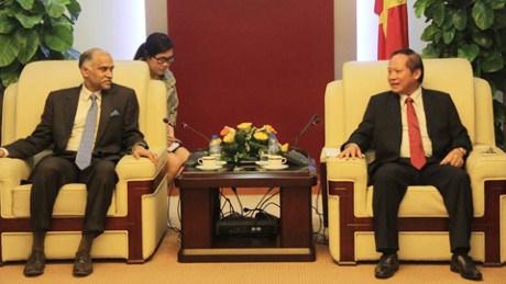 越南印度加强在信息技术和电信邮政领域的合作 hinh anh 1