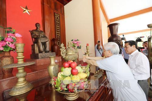 阮富仲总书记:金瓯省应进一步发展海洋经济和林业经济 hinh anh 2