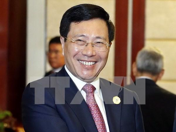 越南代表团在出席东盟外长非正式会议上积极讨论并提出切实可行的建议 hinh anh 1