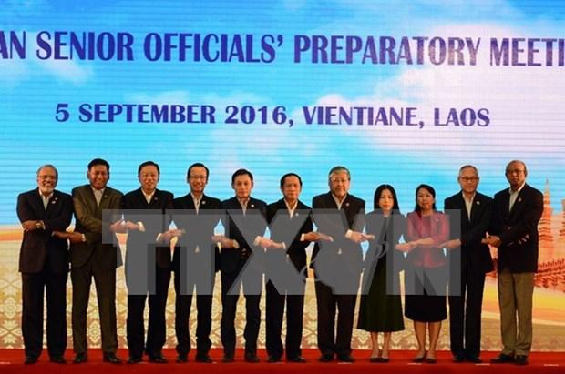 东盟高级官员会议在菲律宾召开 hinh anh 1