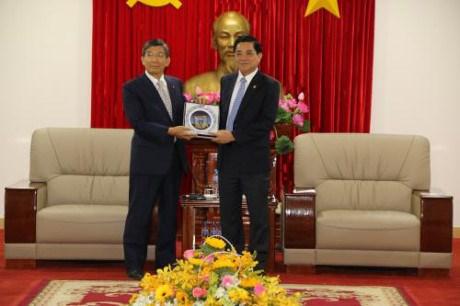 日本企业代表团赴越南平阳省了解投资环境 hinh anh 1