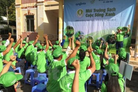 世行资助芹苴市50万美元以开展《为了绿色、清洁、美丽的城市》活动 hinh anh 1