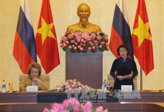 进一步深化越南与俄联邦各地之间的伙伴关系 hinh anh 1