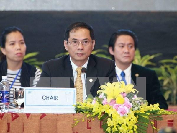 越南外交部副部长裴青山:希望APEC企业开展实质性交流 共同规划未来 hinh anh 1