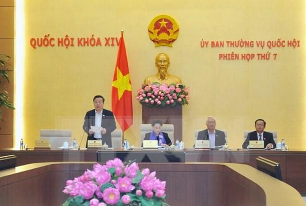 越南第十四届国会常务委员会第七次会议发表公报 hinh anh 1