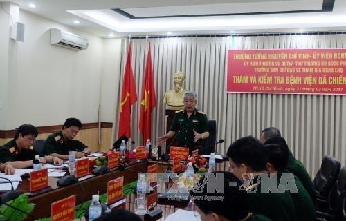 越南一号野战医院为年底参加联合国维和行动做出充分准备 hinh anh 3