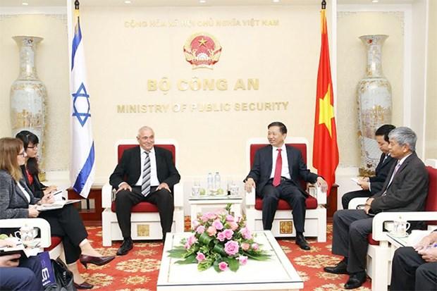 越南与以色列加强高科技合作力度 hinh anh 1