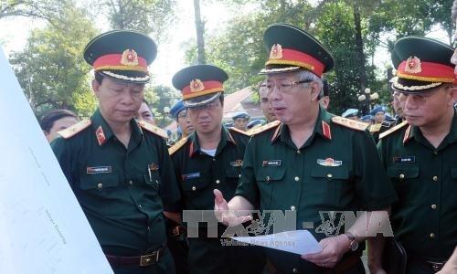 越南一号野战医院为年底参加联合国维和行动做出充分准备 hinh anh 1