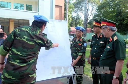 越南一号野战医院为年底参加联合国维和行动做出充分准备 hinh anh 2