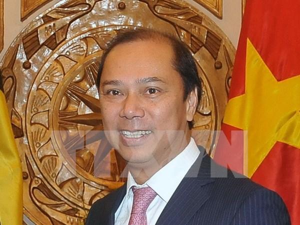 """越南外交副部长阮国勇:坚持共建""""以民为本""""共同体 hinh anh 1"""