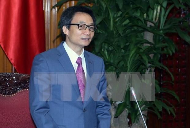 武德儋副总理:每位医生和医务工作者需努力做好人民保健工作 hinh anh 1