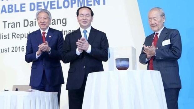 新加坡企业对越南市场关心度持续升温 hinh anh 1