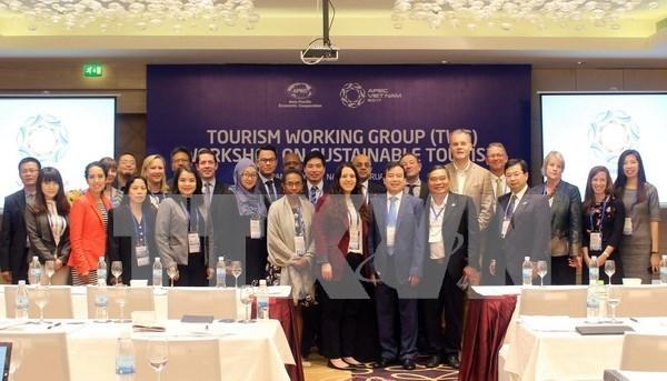 2017年亚太经合组织(APEC)第一次高官会(SOM 1)及相关会议完成第六天议程 hinh anh 1