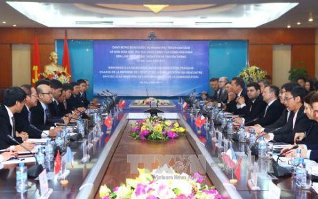 越南与法国合作推动信息技术发展与电子政务建设 hinh anh 1