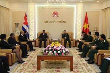 吴春历:进一步加强古巴内务部机要局与越南政府机要委员会的合作 hinh anh 1