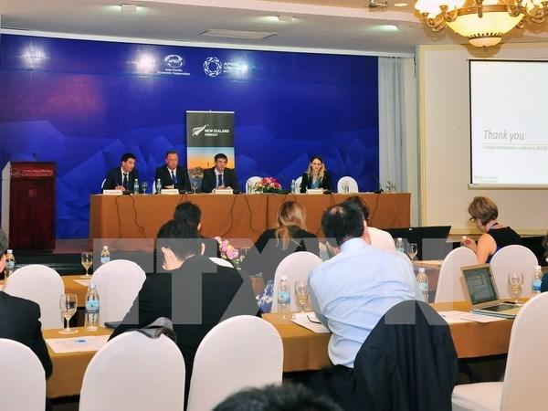 2017年APEC第一次高官会及相关会议进入第八天 hinh anh 1