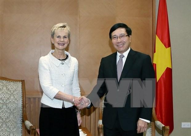 越南政府将为瑞典企业在越长期稳定投资兴业创造便利条件 hinh anh 1