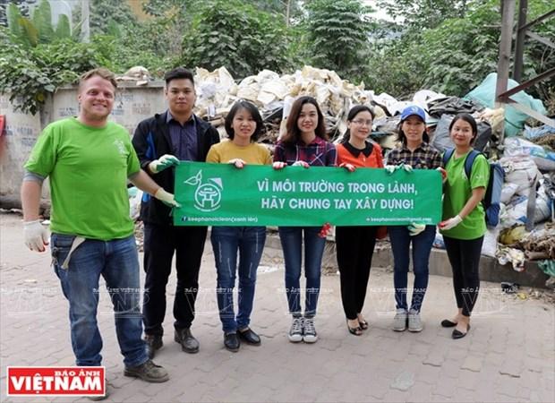 Keep Hanoi Clean为河内清洁行动 hinh anh 1