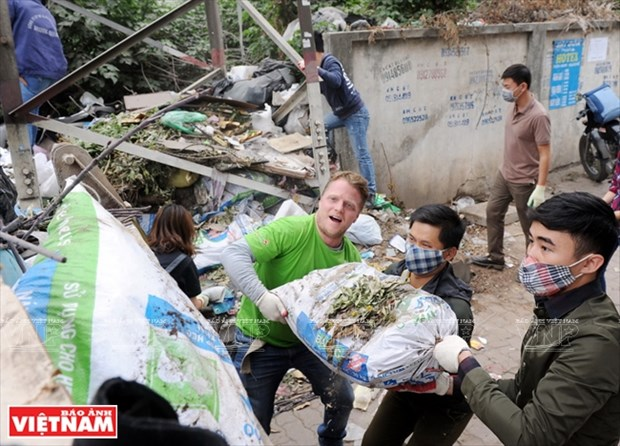 Keep Hanoi Clean为河内清洁行动 hinh anh 9