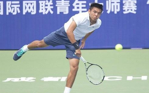 李黄南参加2017年中国男网F3未来赛 hinh anh 1