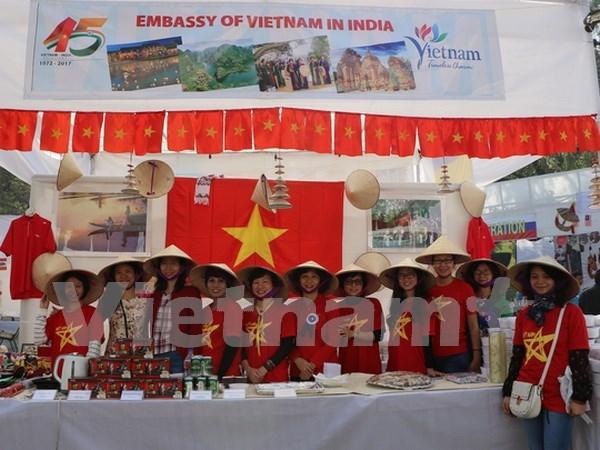越南参加在印度举行的国际慈善义卖会 hinh anh 1