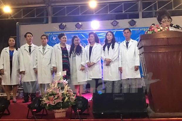越南驻柬埔寨医师协会正式成立 hinh anh 1