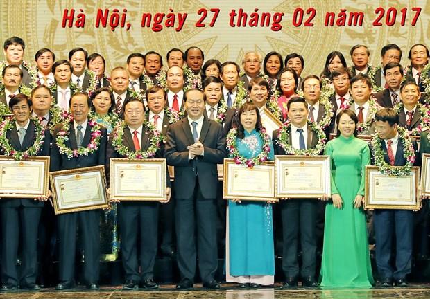 国家主席陈大光:革新与完善公平、效果与发展的医疗系统 hinh anh 2