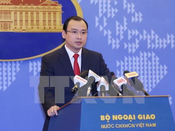 越南外交部发言人黎海平:越南坚决反对并驳斥中国发布海上休渔新制度 hinh anh 1