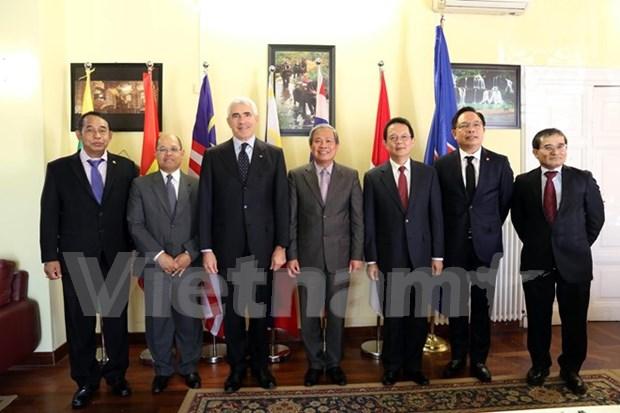 东盟驻罗马委员会:加强内部团结 促进伙伴关系 hinh anh 1