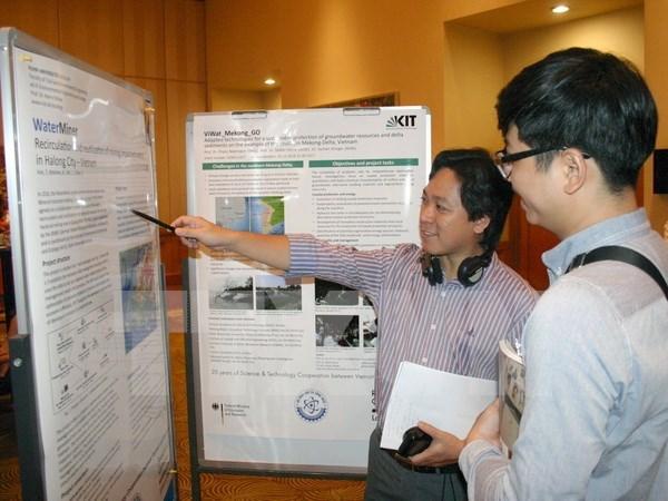 越南与德国继续加强科技合作促进可持续发展 hinh anh 1