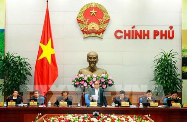 阮春福总理:各部委行业竭尽全力实现2017年所提出的目标任务 hinh anh 1