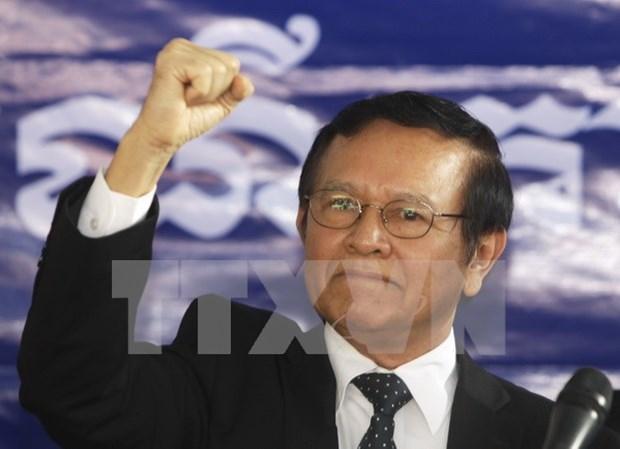 金速卡正式当选柬埔寨救国党主席 hinh anh 1