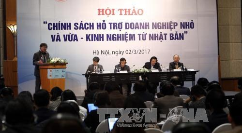 越南与日本分享扶持中小型企业发展的经验 hinh anh 1