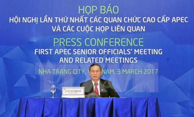裴青山副部长:贸易自由化仍是APEC合作主流 hinh anh 1