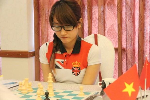 越南国际象棋选手金凤和长山获国际象棋世界杯赛参赛资格 hinh anh 2