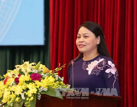 第十二次越南全国妇女代表大会召开在即:着力提高越南妇女的地位 hinh anh 1