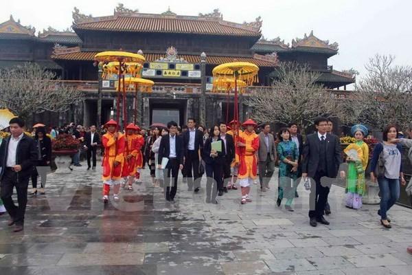 日本出资援助越南对顺化古都遗迹进行修缮养护 hinh anh 1