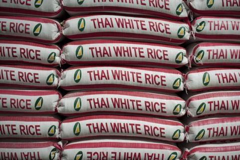 泰国设定出口1000万吨大米的目标 hinh anh 1