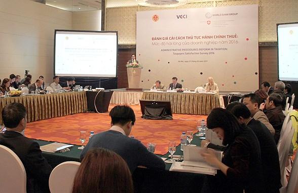 越南着力进行税务行政审批制度改革 提高企业的满意度 hinh anh 1